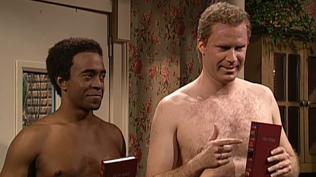 Watch Shirtless Bible Salesmen From Saturday Night Live