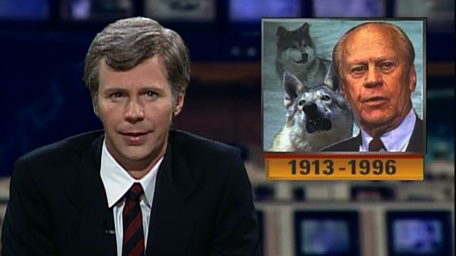 Watch Tom Brokaw Pre Tapes Gerald Ford S Obituary From