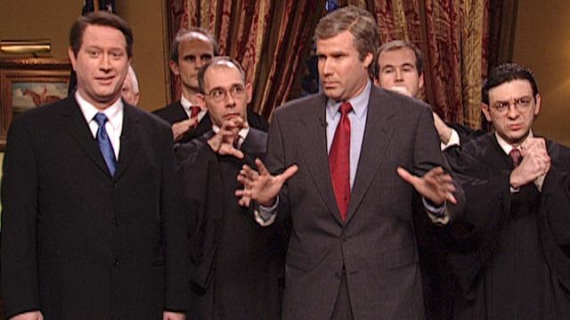 First Presidential Debate: Al Gore and George W. Bush - SNL