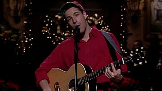 watch saturday night live highlight adam sandler presents song cold opening nbccom - Adam Sandler Christmas