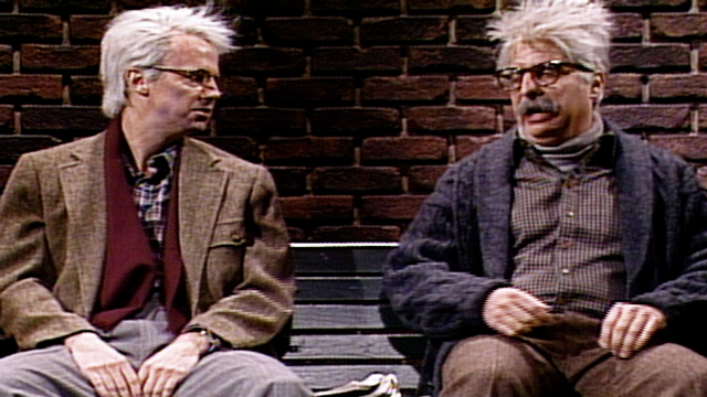 watch grumpy old man sketches from snl played by dana carvey nbc com grumpy old man and friend