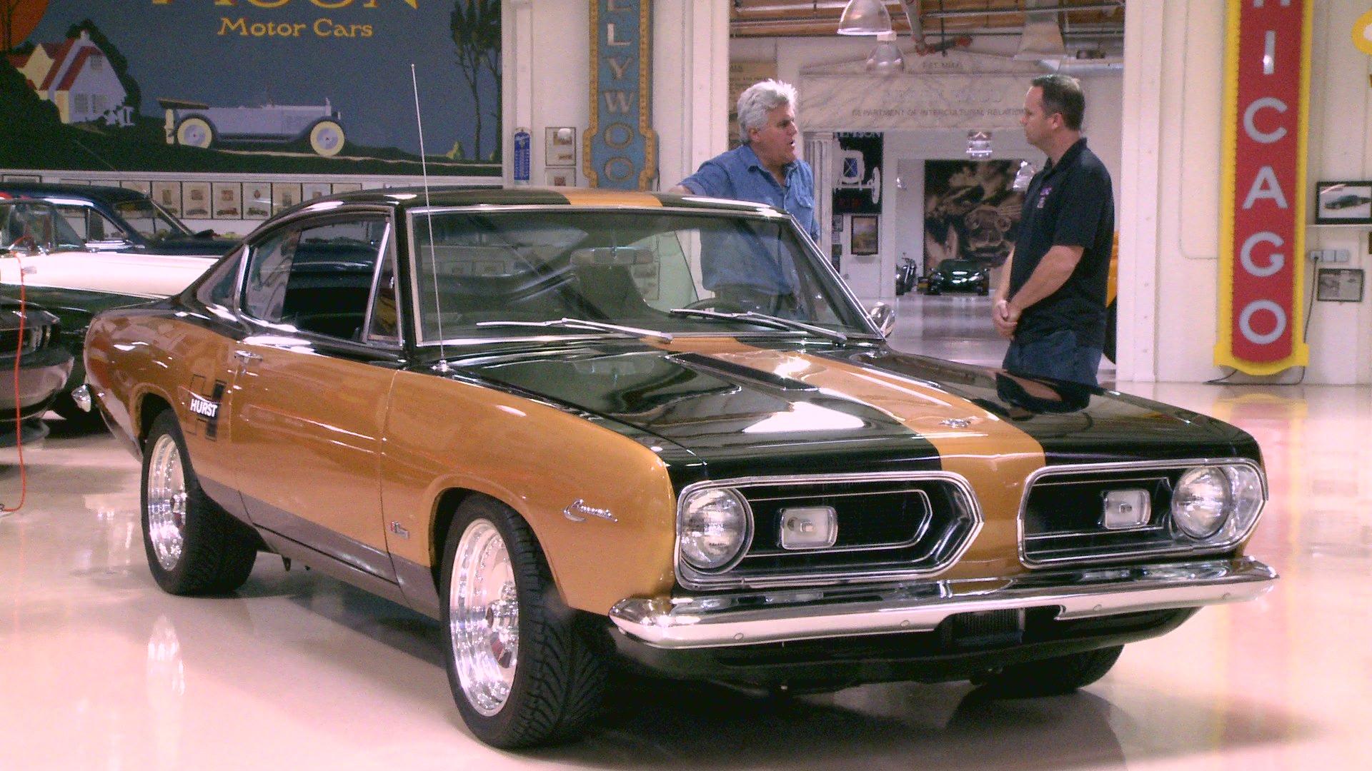 Watch Jay Leno S Garage Plymouth Hurst Barracuda Web
