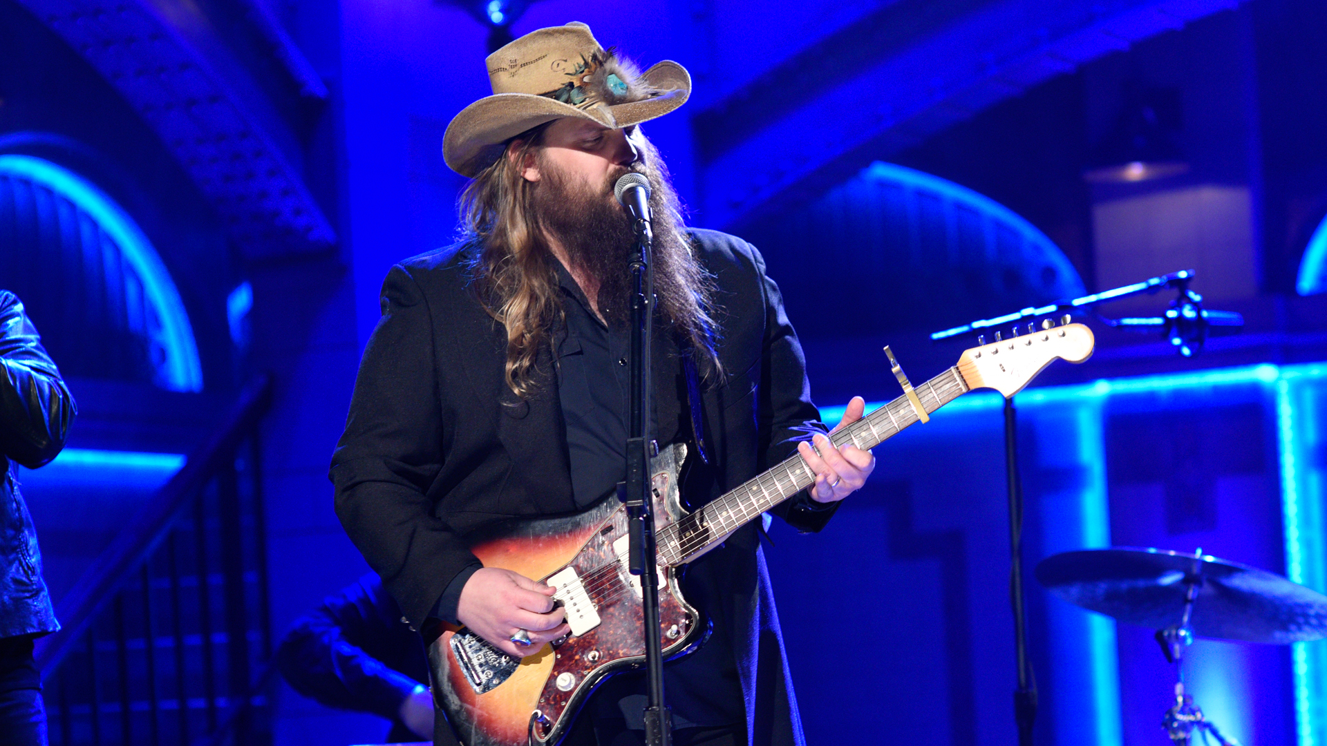watch chris stapleton nobody to blame from saturday night live. Black Bedroom Furniture Sets. Home Design Ideas