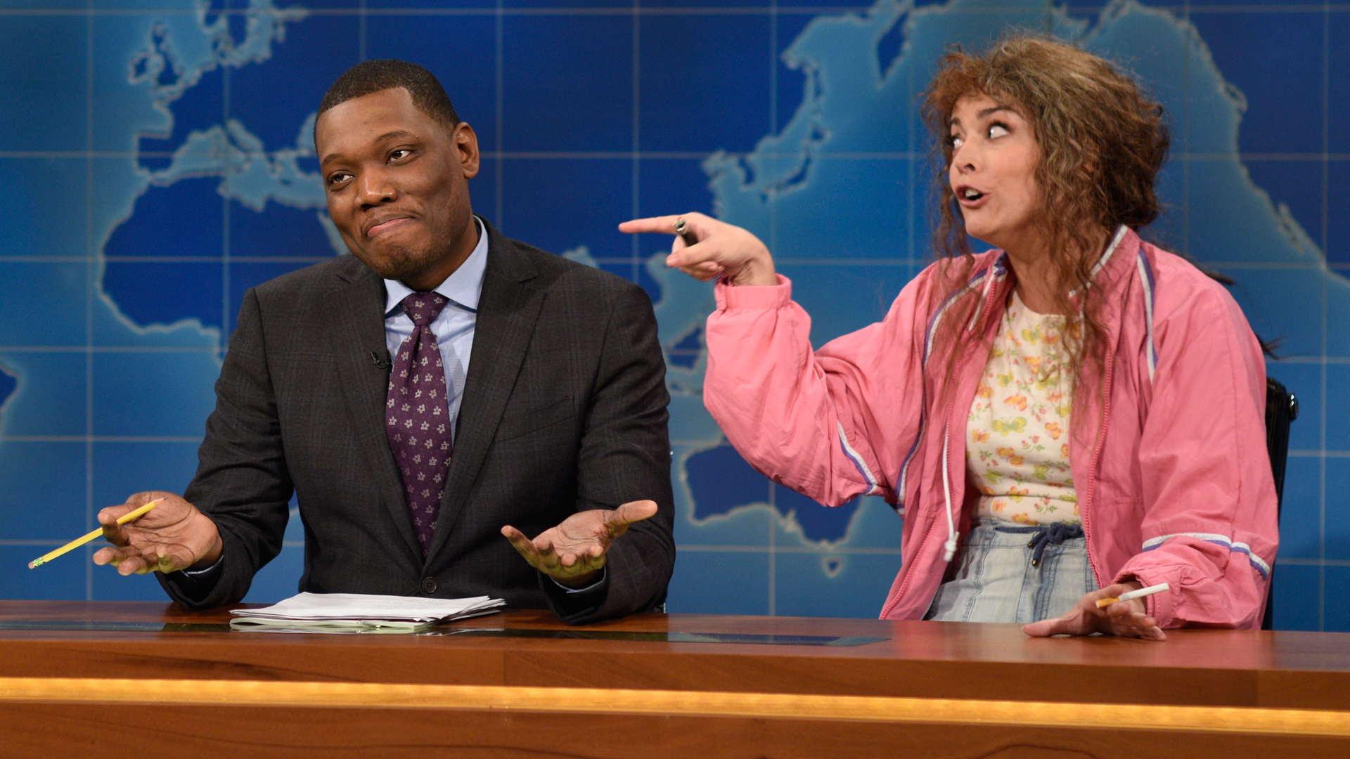 Watch Weekend Update: Undecided Voter Cathy Anne From ...
