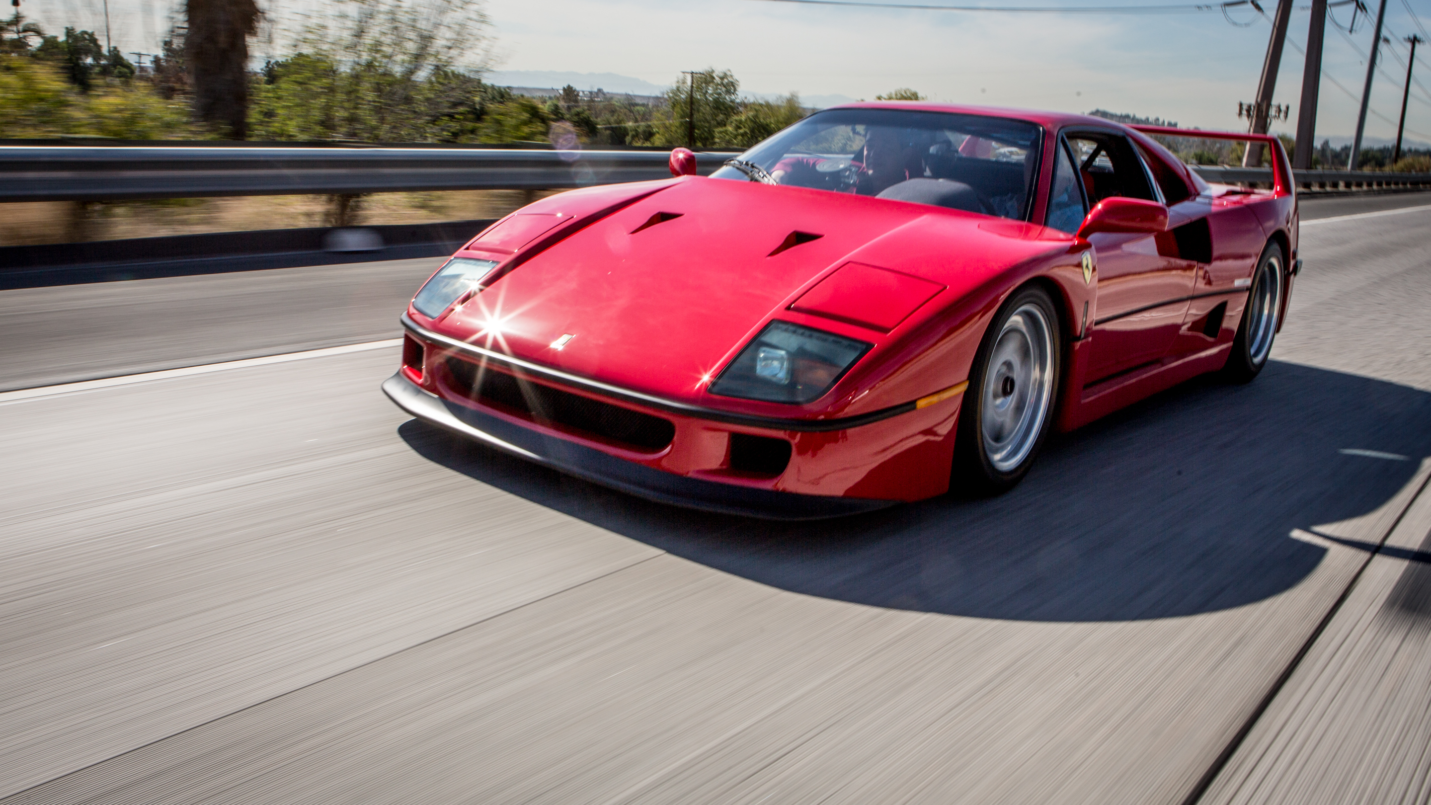 watch jay leno's garage web exclusive: 1990 ferrari f40 - nbc