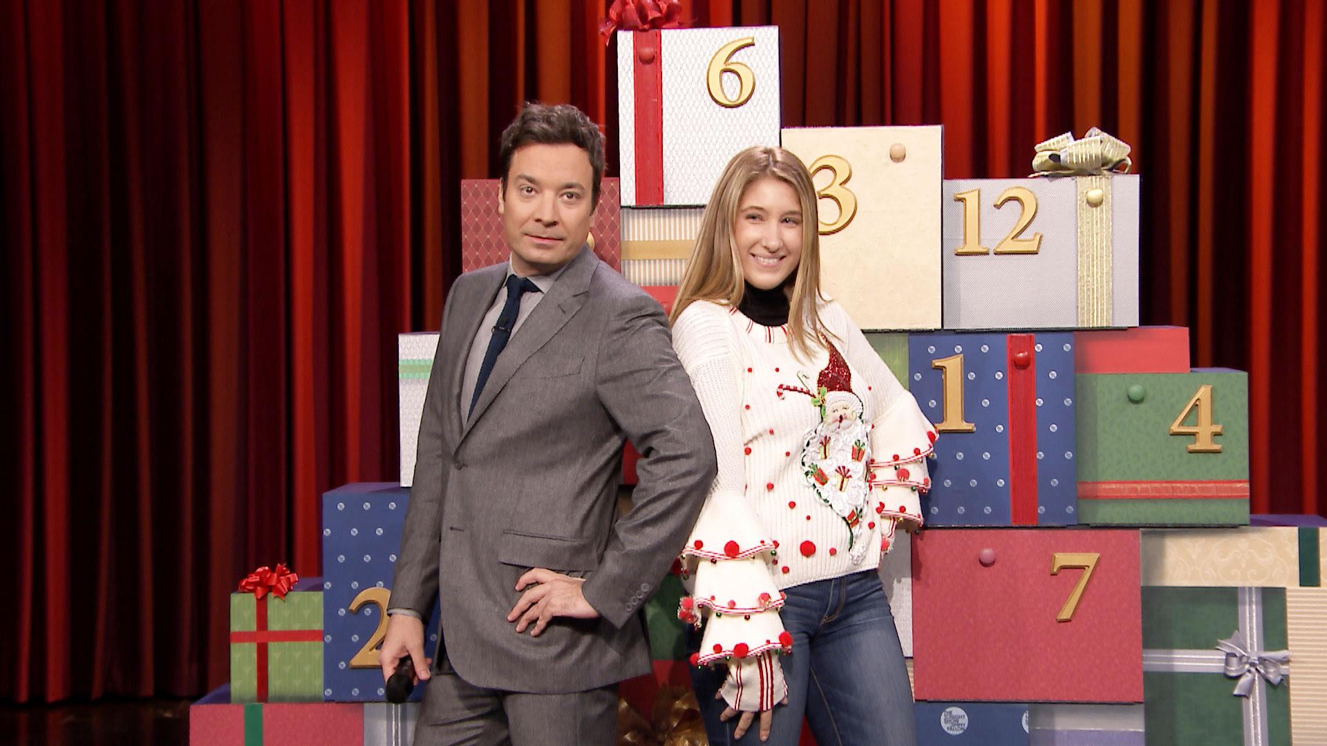 Jimmy fallon christmas sweaters