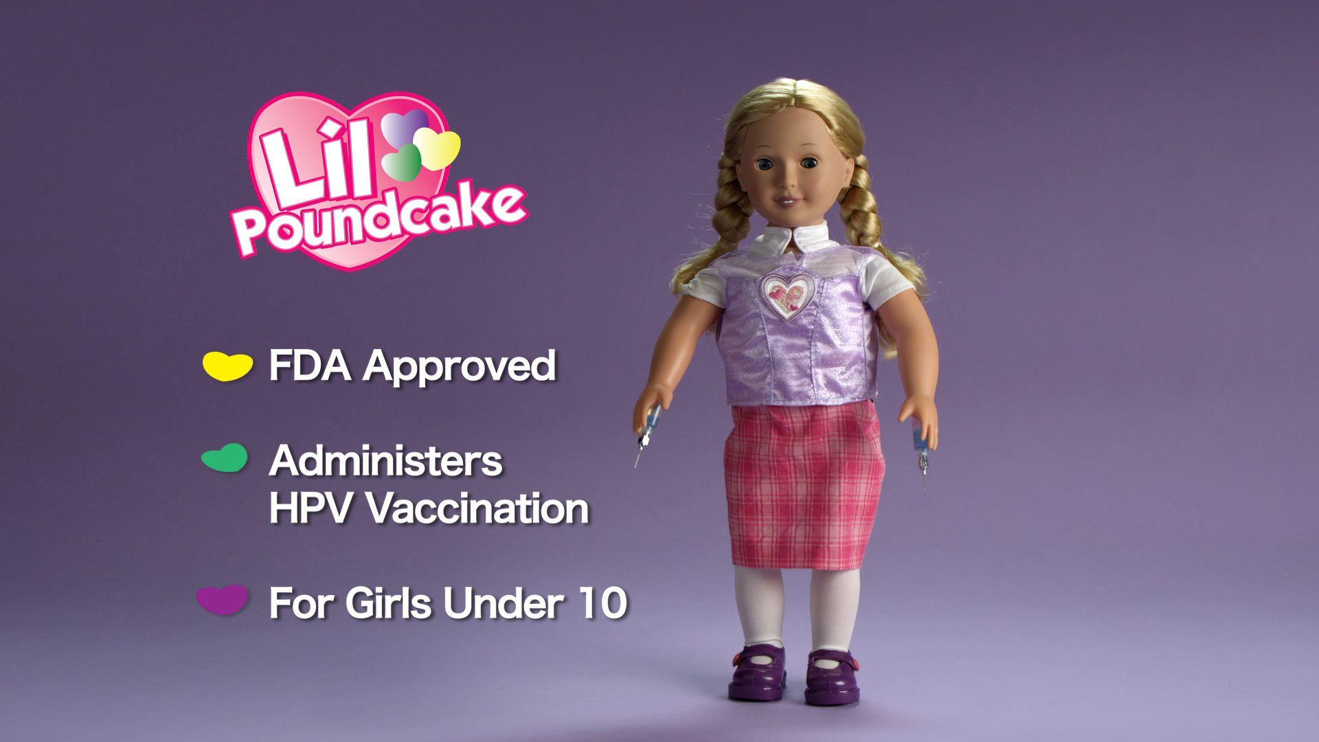 Lil Pound Cake Doll