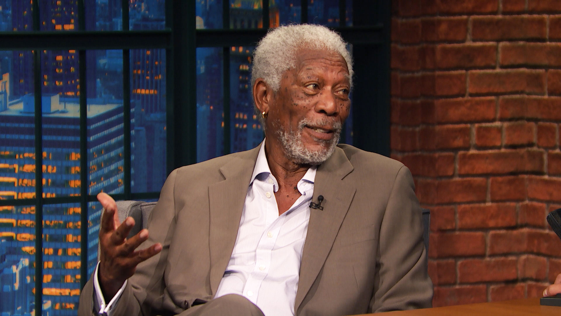 Morgan Freeman Air Force