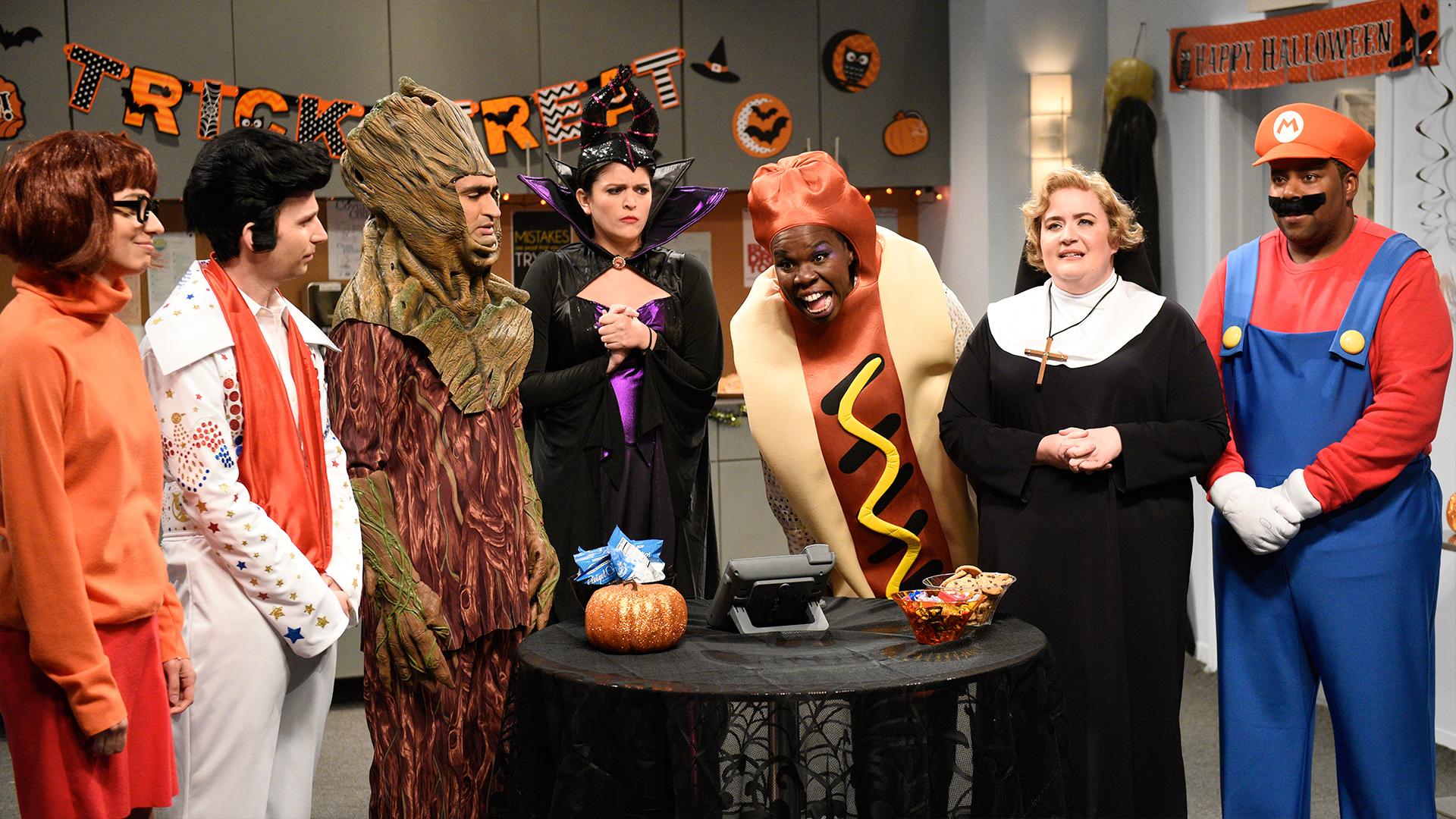 Watch Saturday Night Live Highlight: Office Halloween Party - NBC.com