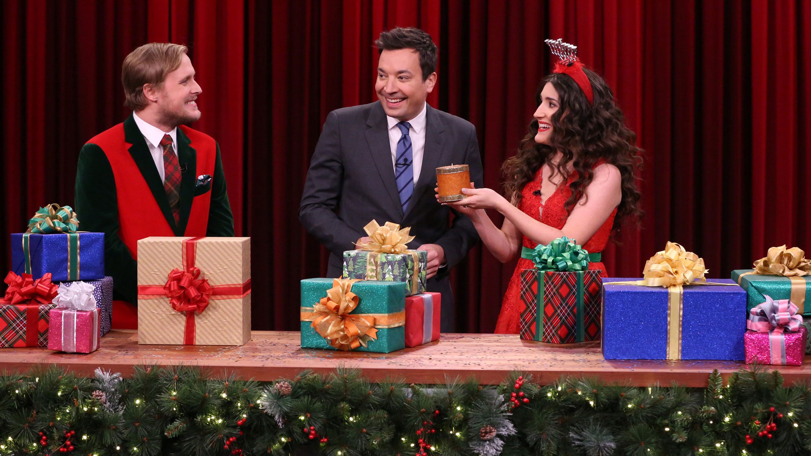 Watch The Tonight Show Starring Jimmy Fallon Highlight: Holiday Gift ...