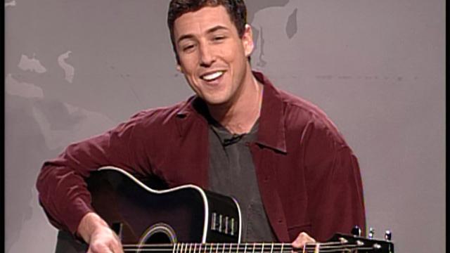 watch saturday night live highlight adam sandler sings the hanukkah song nbccom - Adam Sandler Christmas