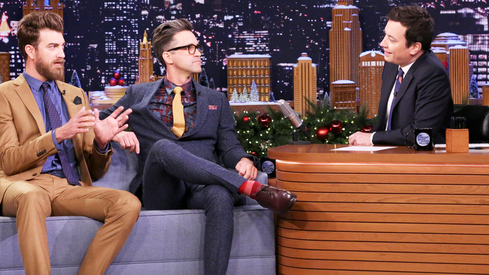 Watch The Tonight Show Starring Jimmy Fallon Interview: Rhett & Link ...