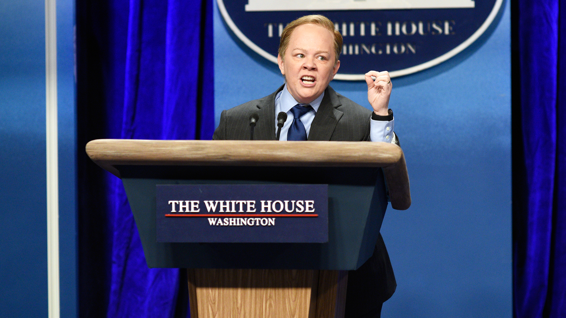 Watch Sean Spicer Press Conference From Saturday Night Live - NBC.com