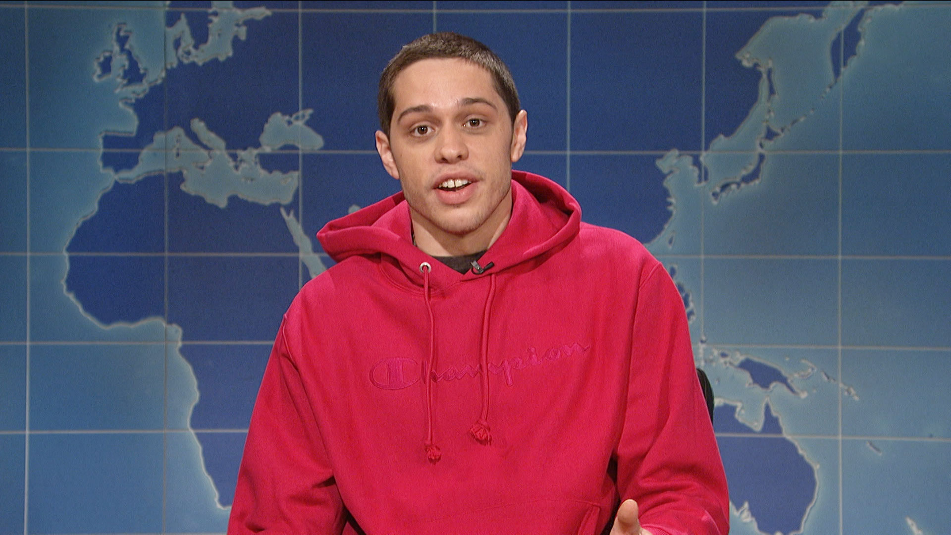 weekend update pete davidson on being sober from