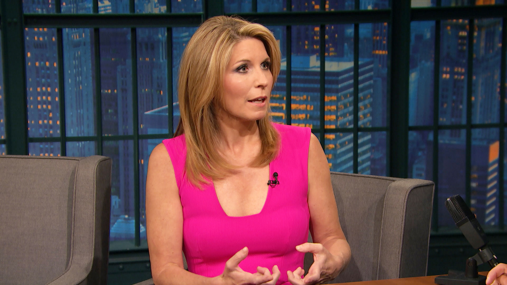 Turns! Nicole wallace nude what that