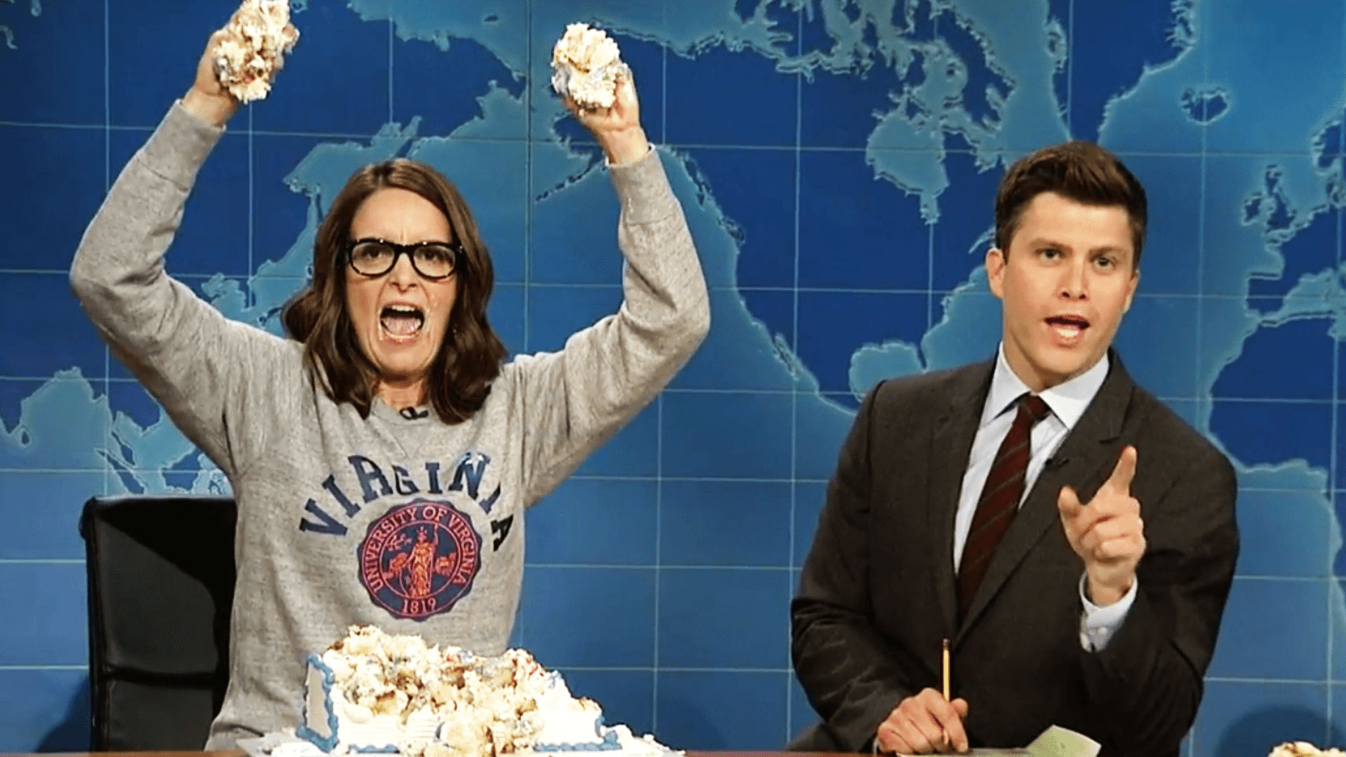 Watch Weekend Update: Tina Fey on Protesting After ...