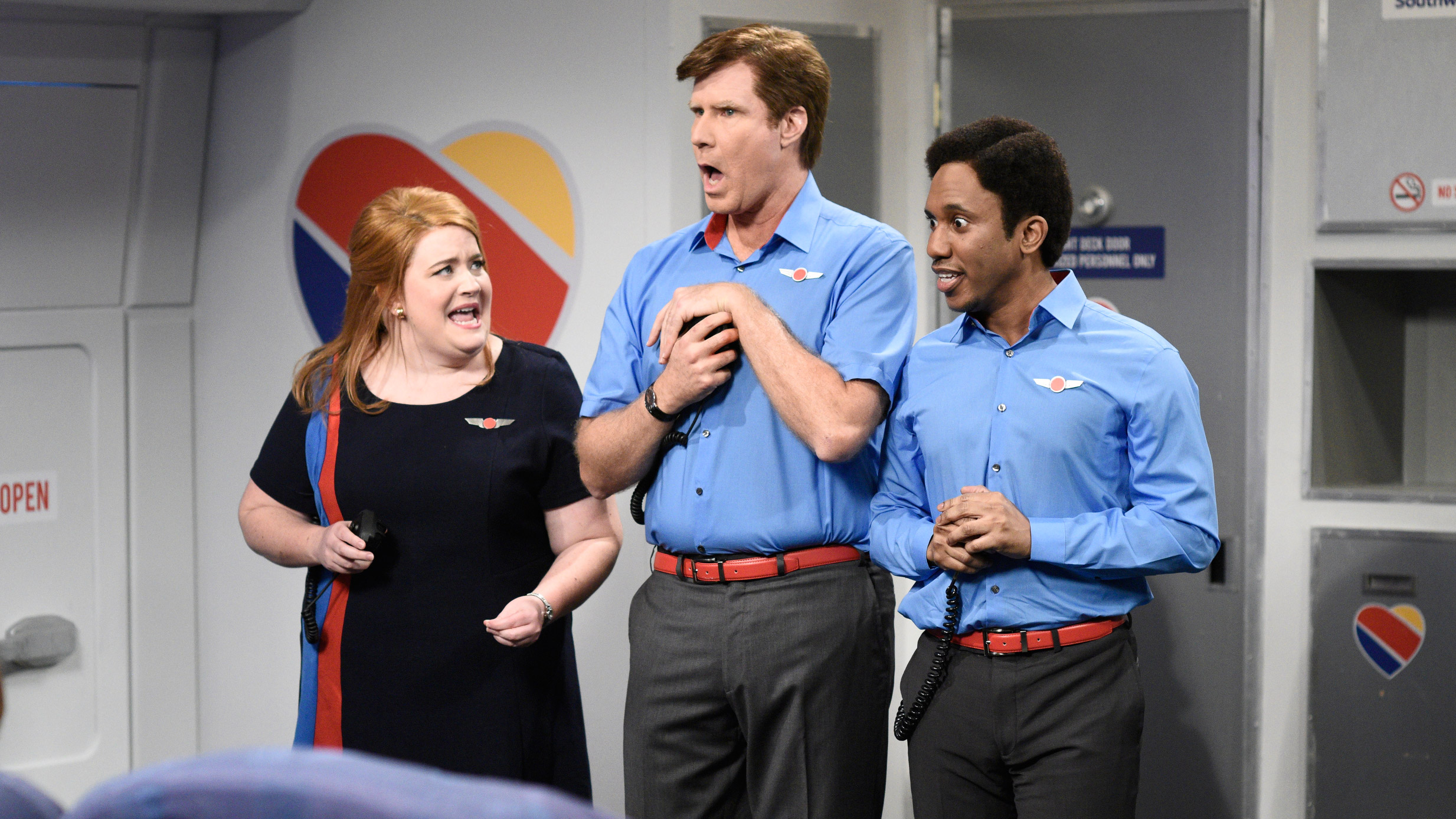 Watch Saturday Night Live Highlight: Flight Attendants   NBC.com