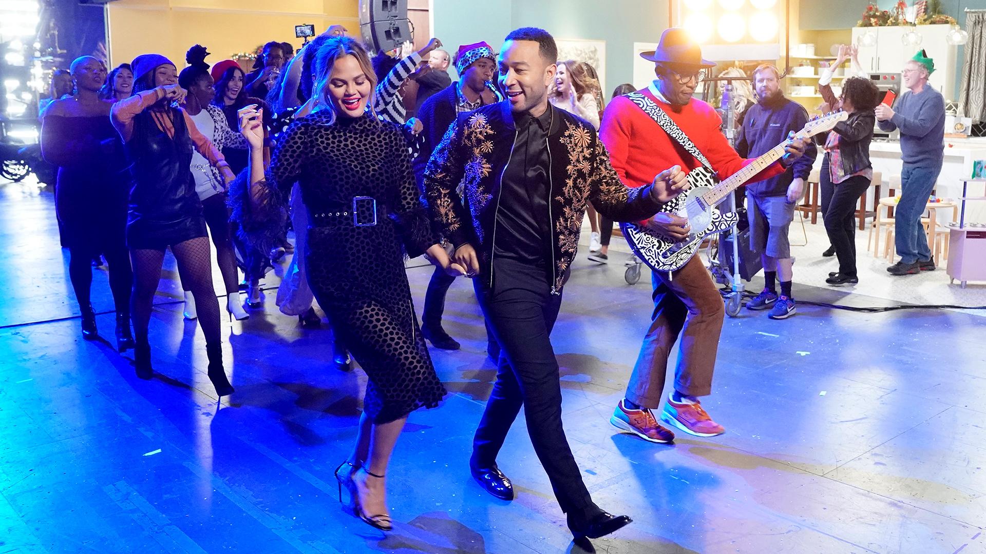 Watch A Legendary Christmas Highlight: John Legend Performs \