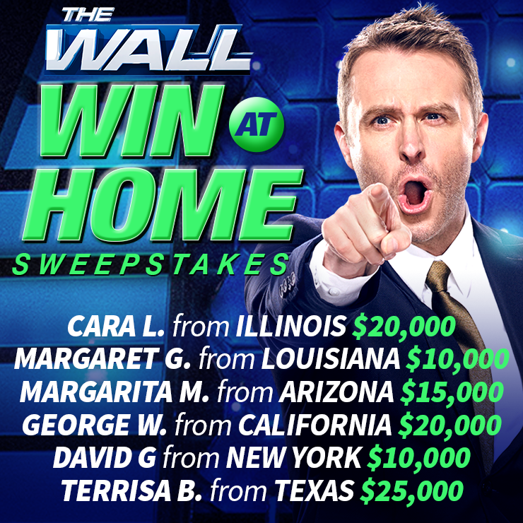 The Wall Sweepstakes - Winter 2018 - NBC com