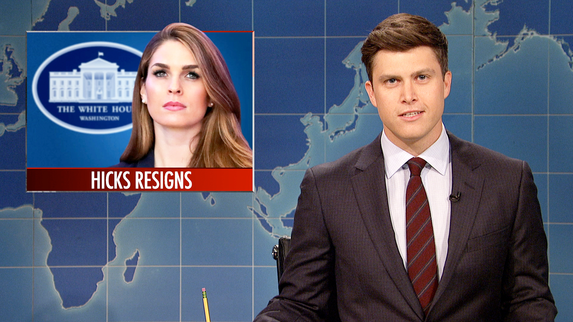 Watch Weekend Update on Hope Hicks's Resignation From ...