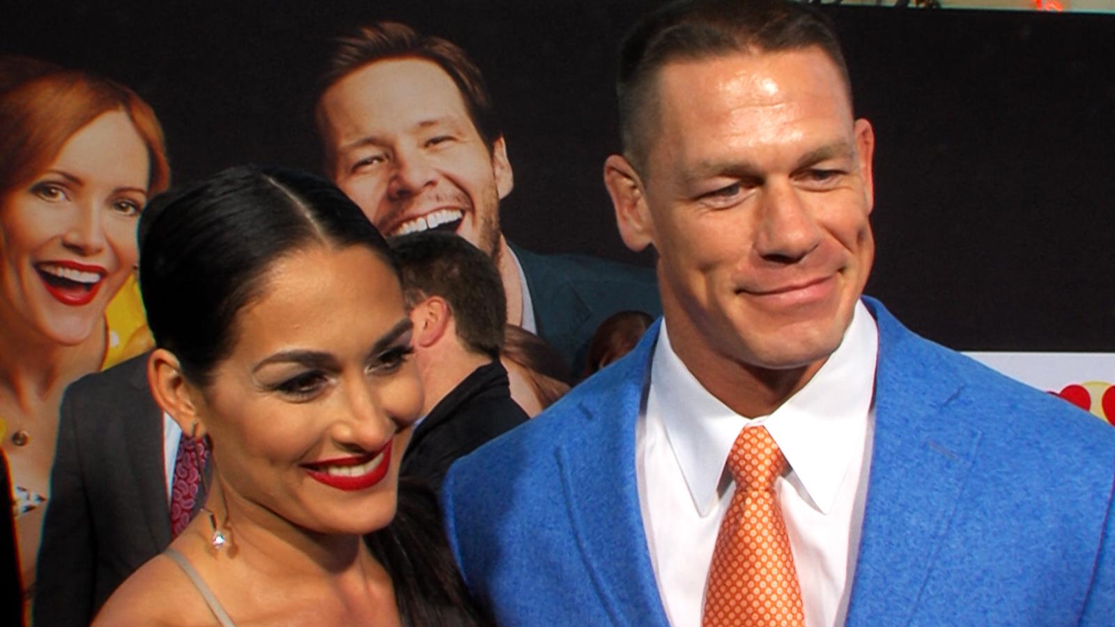 Watch Access Interview: John Cena & Fiancée Nikki Bella Spill ...