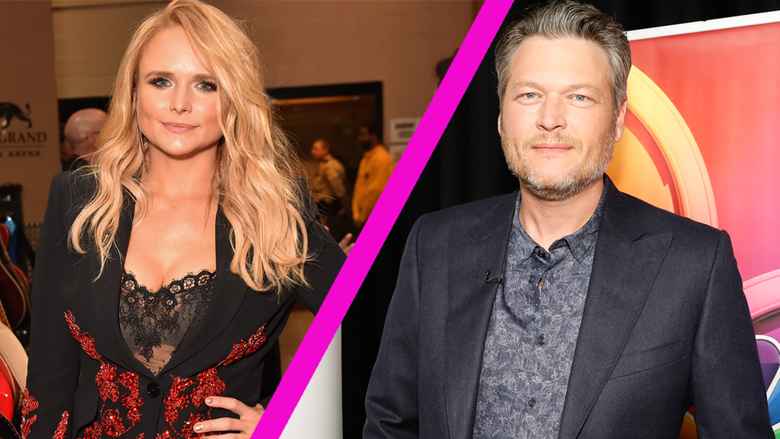watch access interview did blake shelton just shade his ex wife