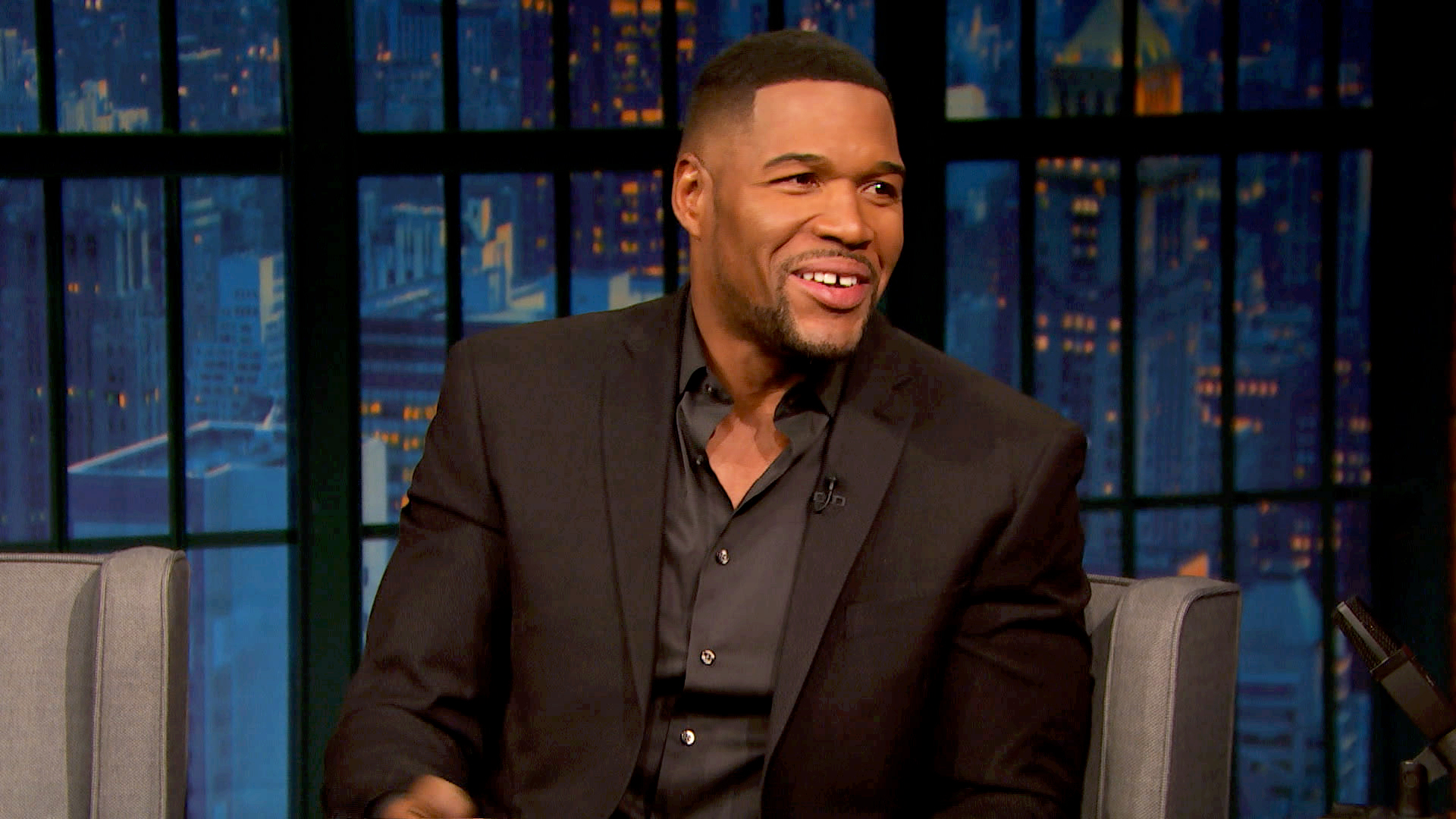 Watch Late Night With Seth Meyers Episode Michael Strahan Penn