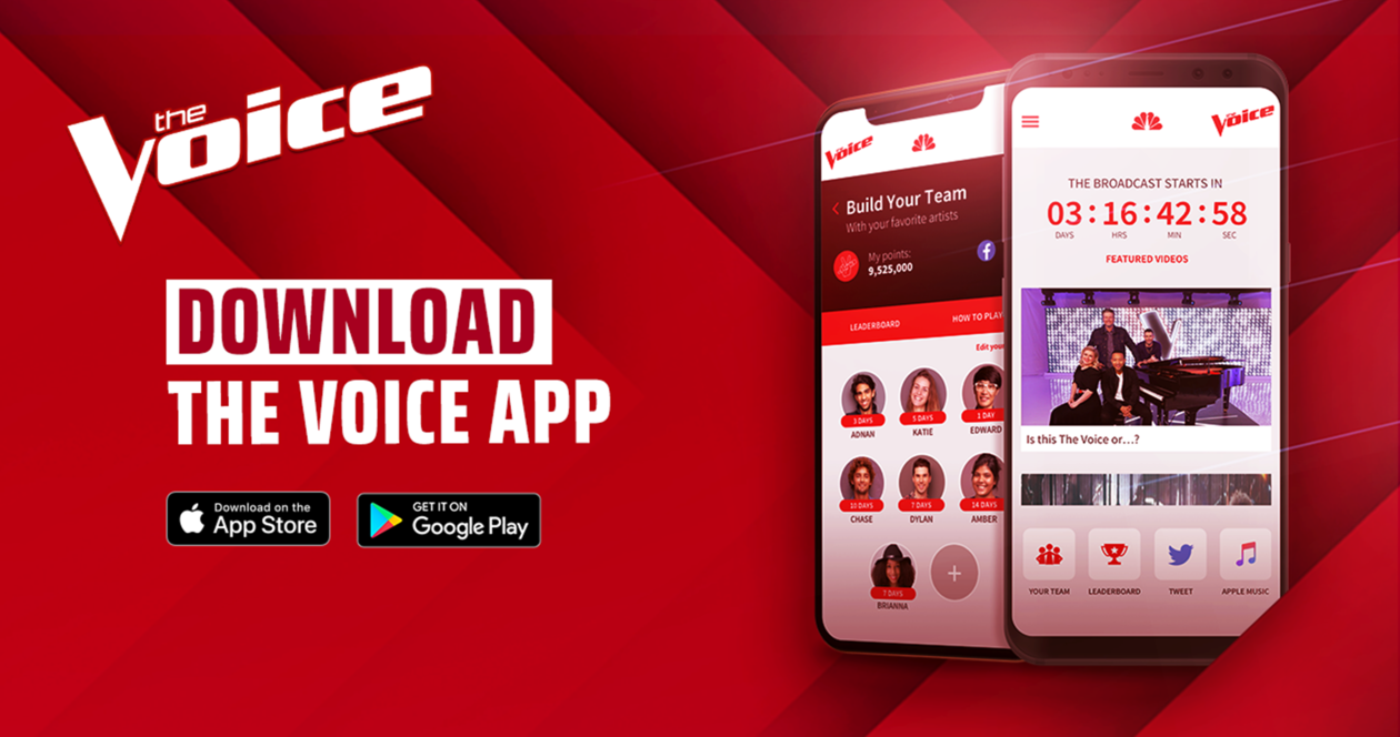 The Voice App - Season 16 - NBC com