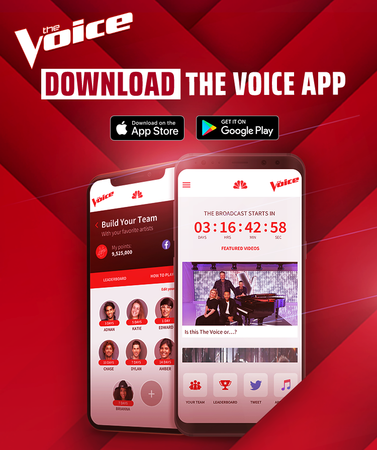 The Voice App - Season 16 - NBC com