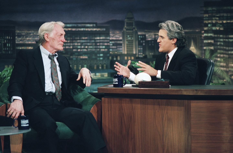 The Tonight Show with Jay Leno -- Jack Palance