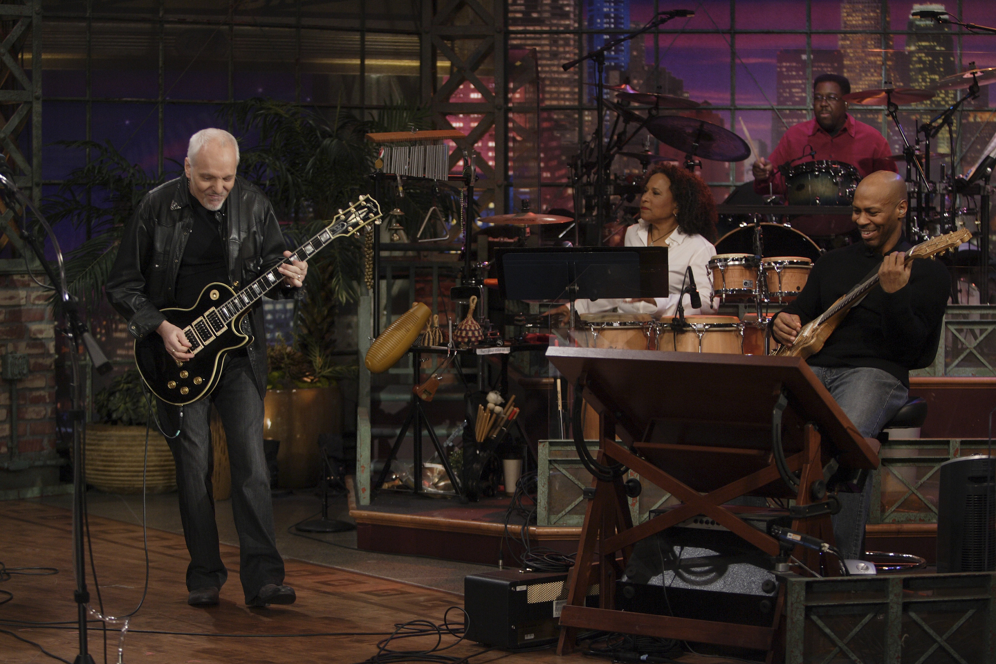Kevin Eubanks and The Tonight Show Band   The Tonight Show ...