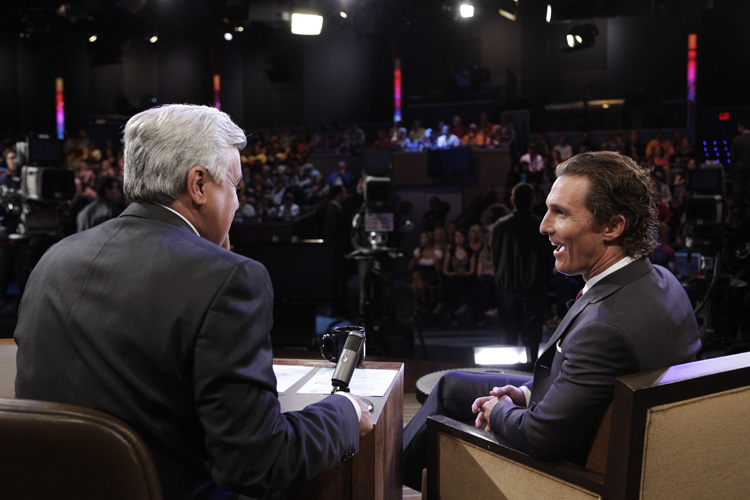 The Tonight Show with Jay Leno - Backstage