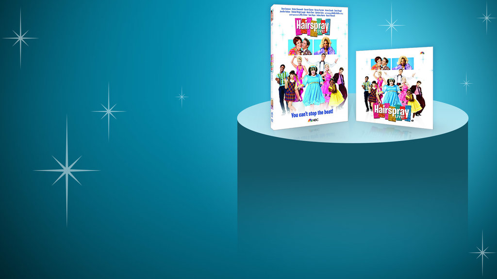 Hairspray - NEW SITE - NBC Store Key Art Slide