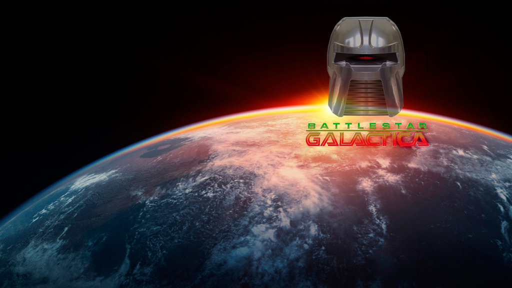 Battlestar Galactica Responsive Key Art Dynamic Lead Slide
