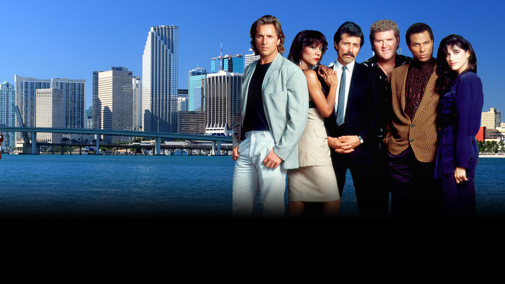 Miami Vice Responsive Key Art Dynamic Lead Slide