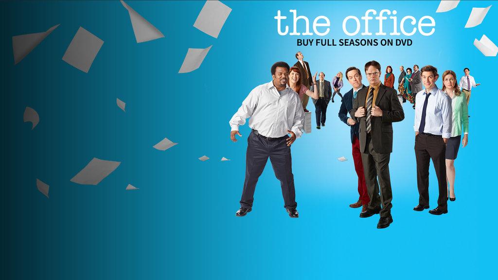 The Office Responsive Key Art Dynamic Lead Slide