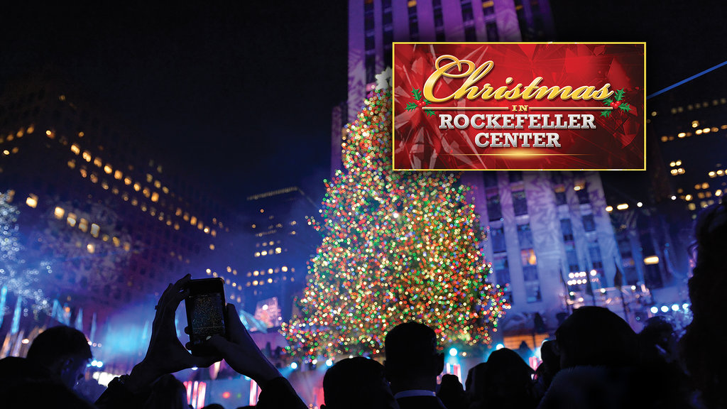 Christmas in Rockefeller Center Responsive Key Art Slide