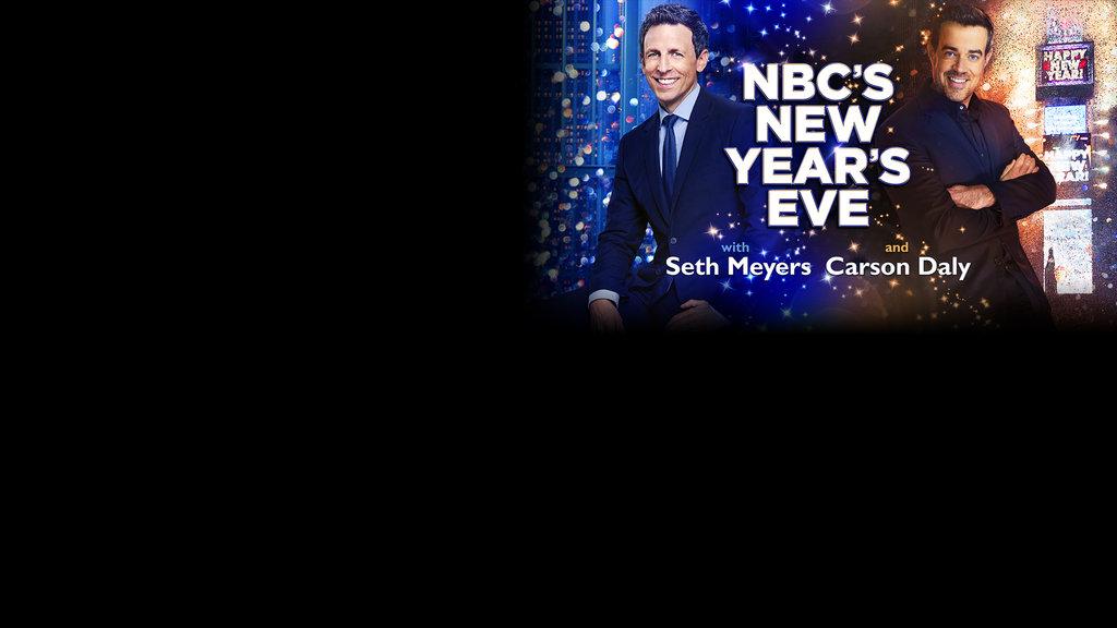 NBC New Year's Eve Responsive Key Art Slide