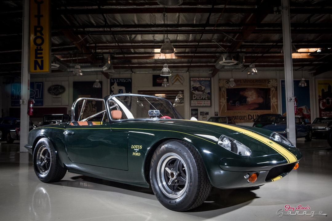 Jay leno 39 s garage 1966 lotus elan photo 1651916 for Garage lotus