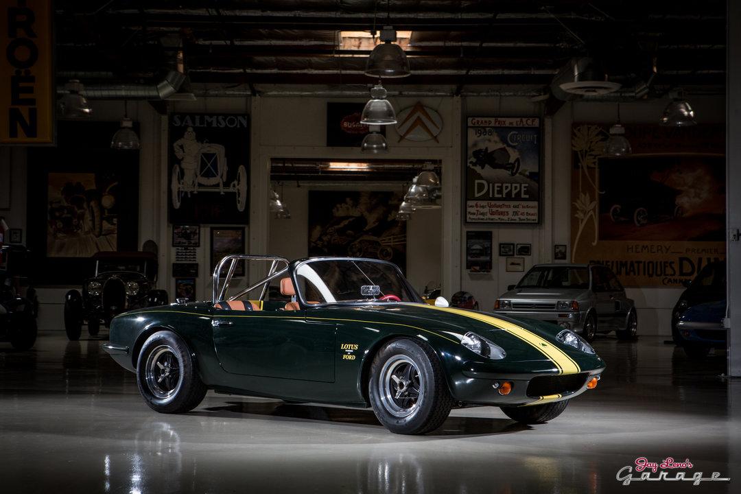 Jay leno 39 s garage 1966 lotus elan photo 1651981 for Garage lotus