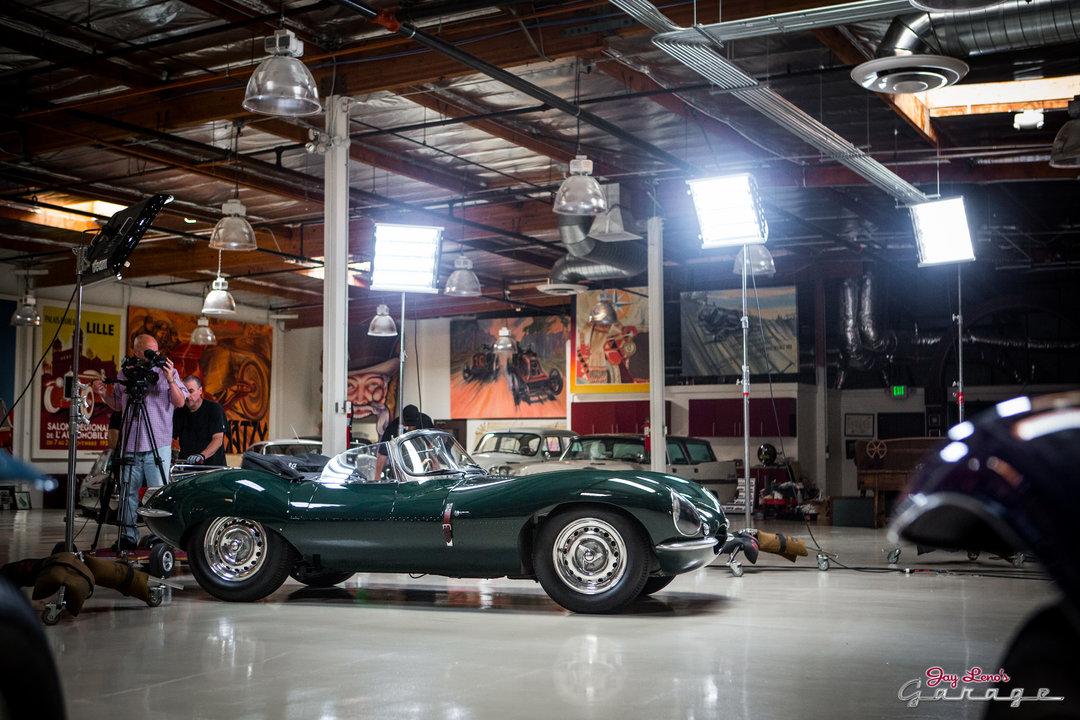 Jay leno 39 s garage steve mcqueen 39 s 1956 jaguar xkss photo for Garage jaguar lille
