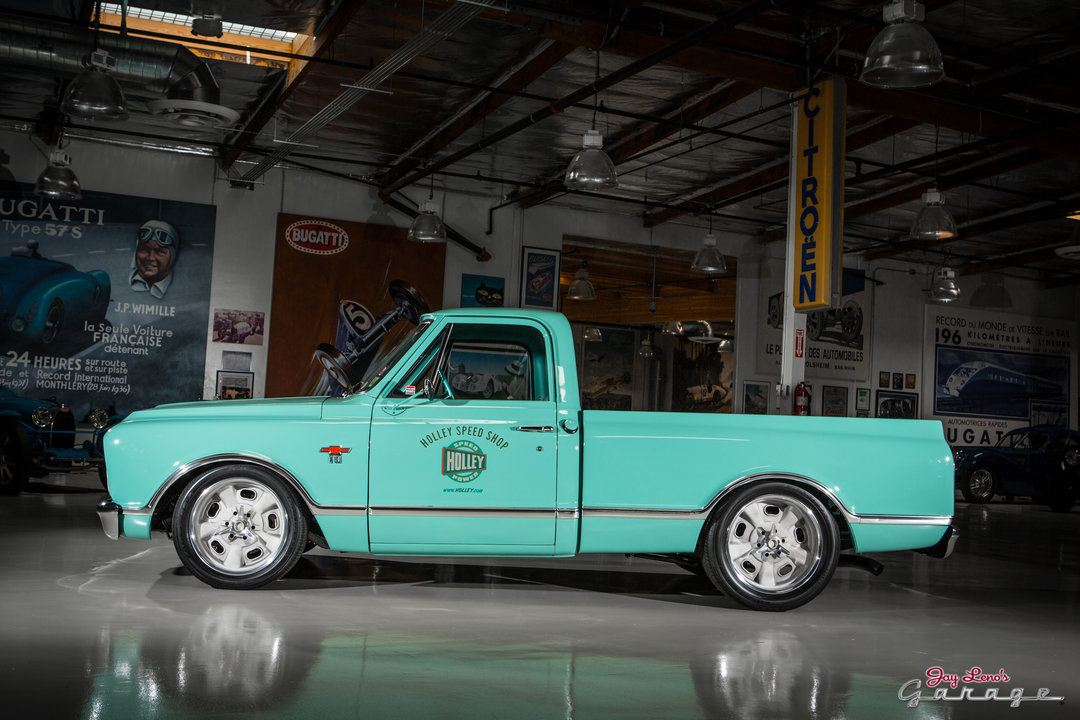 Jay leno 39 s garage 1967 chevy c 10 photo 1799596 for Garage chevrolet luxembourg