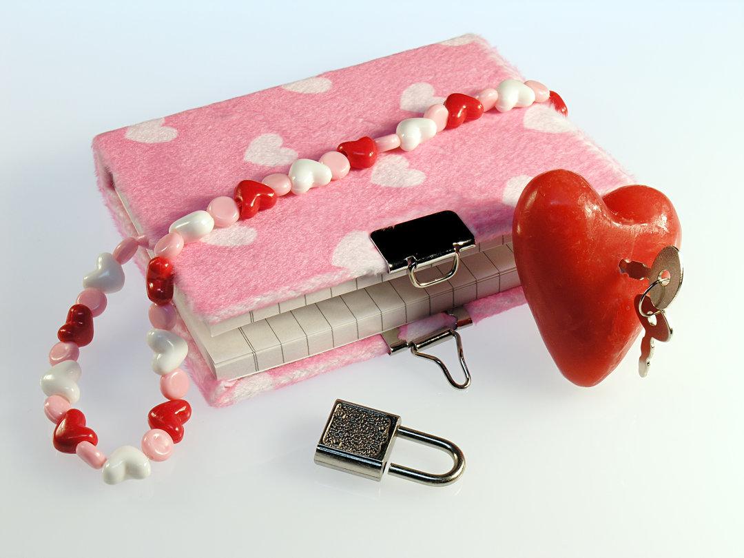 Как сделать своими руками личный дневник с замком