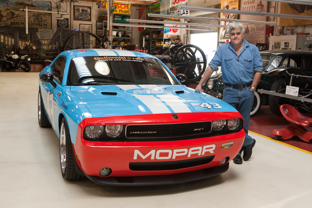 Jay Leno S Garage Richard Petty Dodge Challenger Photo