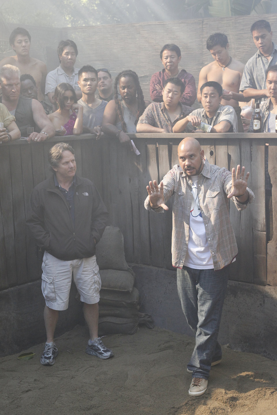 Fight Scenes Are Like Learning A Dance You Learn It Move: Chuck: Behind The Scenes: Sarah's Fight Scene Photo