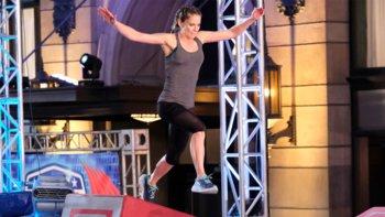 Natalie Morales' Ninja Warrior Run