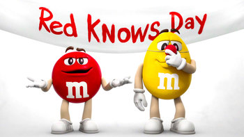 It's Red Knows Day!