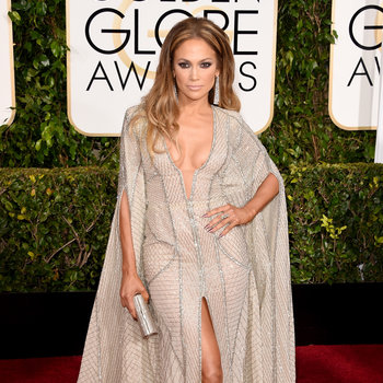 How Low Can They Go? Stars take the plunge in dangerously low-cut gowns.