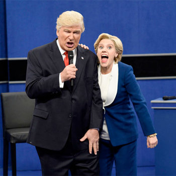 Get ready for tonight's SNL presidential debate! Watch the first two and more political highlights.