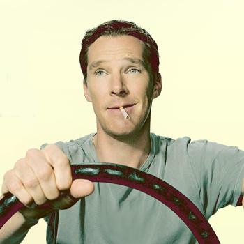 Benedict Cumberbatch and Solange Bumper Photos